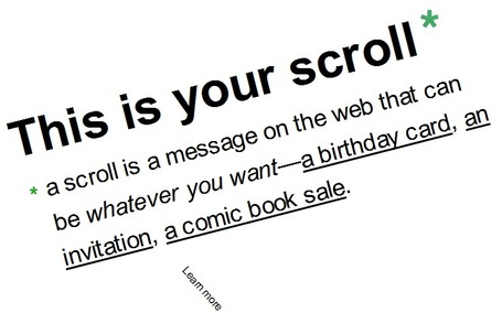 scroll kit - put your presentations on the web | Digital Presentations in Education | Scoop.it