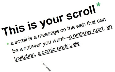 scroll kit - put your presentations on the web | Learning with Digital Media | Scoop.it