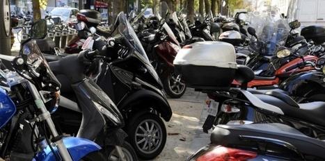 Paris mène la guerre aux deux-roues mal garés sur les trottoirs ... | Entretien esthétique 2RM | Scoop.it