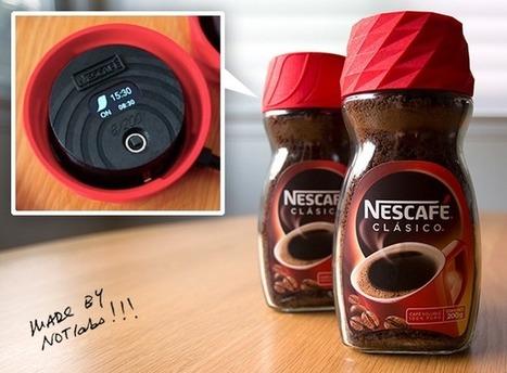 Packagings innovants : Vittel et Nescafé boostent nos habitudes ! | La révolution numérique - Digital Revolution | Scoop.it