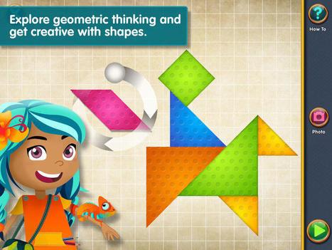Shape Arts: Geometry Creations – Best Apps For Kids | Edtech PK-12 | Scoop.it