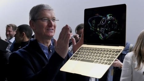 Apple unveils new MacBook, available in gold, with only one single port | Business Studies: BROB | Scoop.it