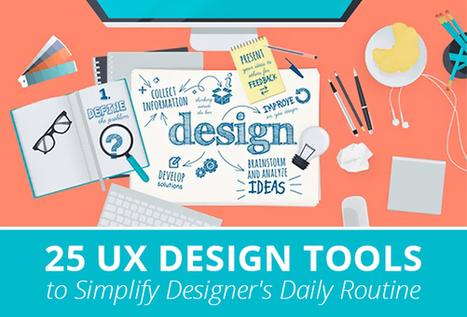 25 UX Design Tools to Simplify Designer's Daily Routine | Web Design | Scoop.it