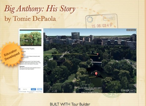 Big Anthony: His Story | Google Lit Trips: Reading About Reading | Scoop.it
