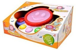 Buy Baby Finger Drum With Lights and Music - Laughing Sound and Touch Drum   Discounts India   Scoop.it