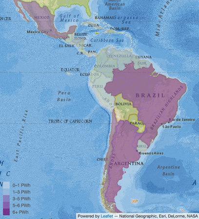 Latinoamérica: más de 50.000 kilómetros de costa para la energía eólica marina | Energía eólica terrestre y marina. | Scoop.it