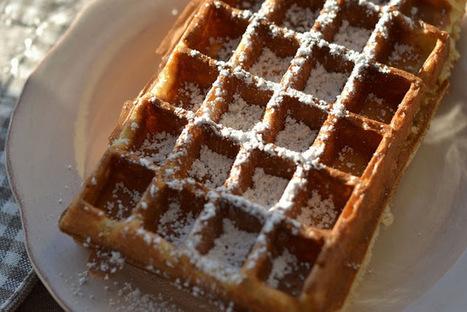 Fromage ou Dessert ? Dessert !!!: Gaufres à l'eau gazeuse, croustillantes et légères, parfumées au rhum | Rhum | Scoop.it