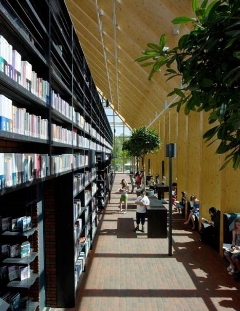 Une bibliothèque digne de Babel aux Pays-Bas | BiblioLivre | Scoop.it