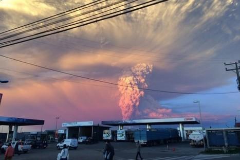 Le Chili surpris par l'éruption du volcan Calbuco | Grain du Coteau : News ( corn maize ethanol DDG soybean soymeal wheat livestock beef pigs canadian dollar) | Scoop.it