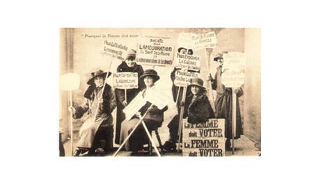 La conquête de la citoyenneté politique des femmes - Histoire - Le suffrage universel - Assemblée nationale | Revue de tweets | Scoop.it