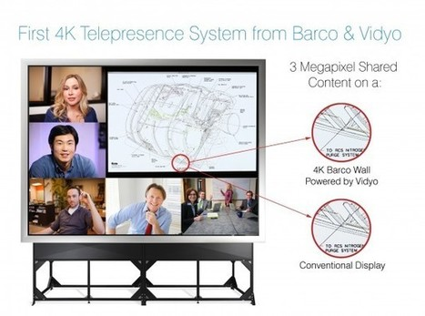 Barco and Vidyo Demonstrate High-End 4K Immersive Video Conferencing and Collaboration System [PR] | Video Breakthroughs | Scoop.it