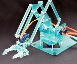 Pocket Sized Robot Arm #meArm V0.4 | Heron | Scoop.it