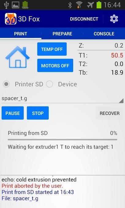 Une application Android pour piloter votre imprimante 3D - Korben | Technochauvinoise | Scoop.it