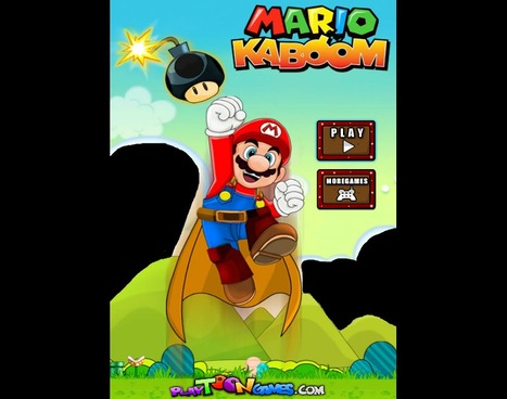 Mario KaBoom - Play Your Best Mario Games On playtoongames.com | Mario Games | Sonic Games | Scoop.it