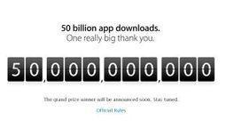 Apple batió el récord de las 50 billones de descargas - Ambito.com | Me interesan | Scoop.it