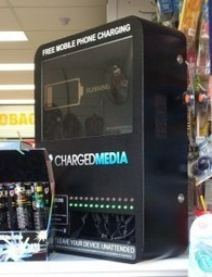 Digital Signage Klip: Free Mobile Phone Charging station with a twist | Digital Signage Blog | The Meeddya Group | Scoop.it
