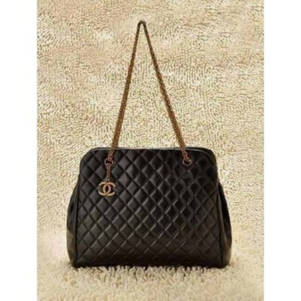 Chanel Bowling Bag 49855 Lambskin Black Bronze Chain Perfect present | Cheap Chanel Outlet Store Online | Scoop.it