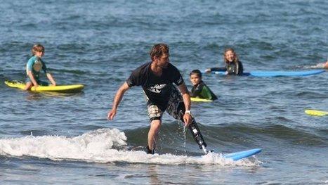 Eric Dargent : le surfeur amputé défendra son titre de champion de France à Biarritz en octobre - France 3 Aquitaine   BABinfo Pays Basque   Scoop.it
