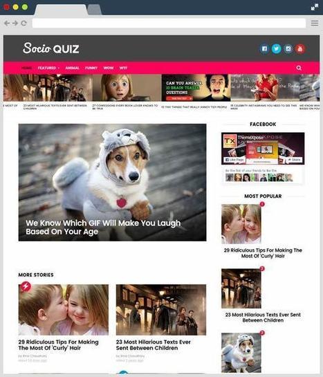 Socio Viral & Buzz Responsive Free Blogger Template | Designrazzi | Blogger themes | Scoop.it