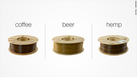Yes, you can totally use beer, coffee and hemp for 3D printing | 3D Virtual-Real Worlds: Ed Tech | Scoop.it