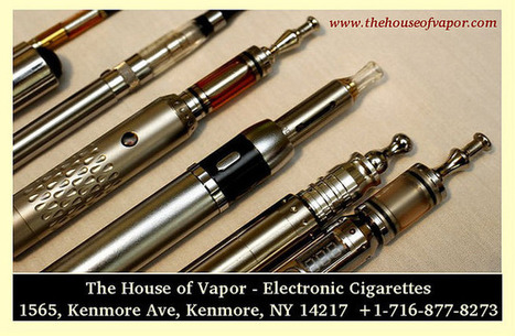 Electronic Cigarettes - The House of Vapor | The House of Vapor | Scoop.it