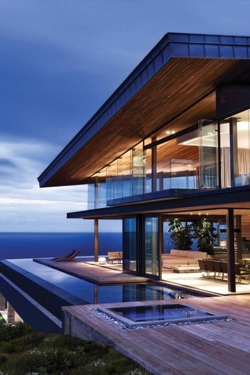 Magnifique maison de bord de mer – Cove 3 par SAOTA – Cape Town – Afrique du