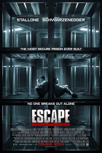 'Escape Plan' Trailer: Stallone! Schwarzenegger! Punching! | Movie News | Movies.com | Machinimania | Scoop.it