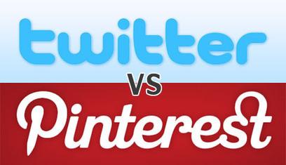 Twitter vs. Pinterest: The Battle for Better Business Marketing | Social media culture | Scoop.it