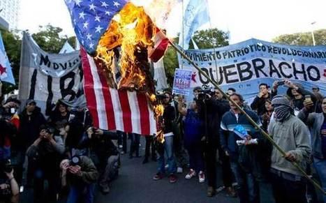 Argentina protesta por acuerdo firmado entre YPF y Chevron   Protesta mapuche contra Chevron   Scoop.it