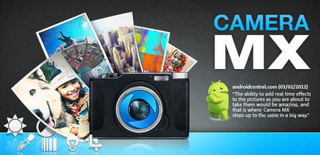 Camera MX - the free Android photo app with amazing live effects | Photodroid | Scoop.it
