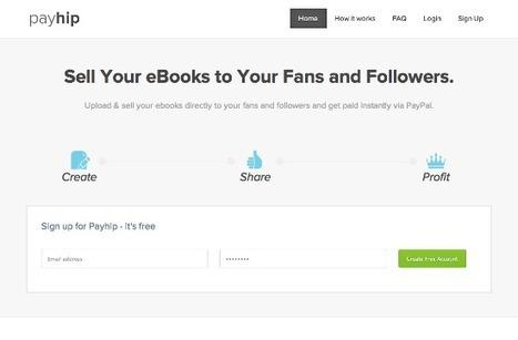 Vendi il tuo eBook online con Payhip | Diventa editore di te stesso | Scoop.it