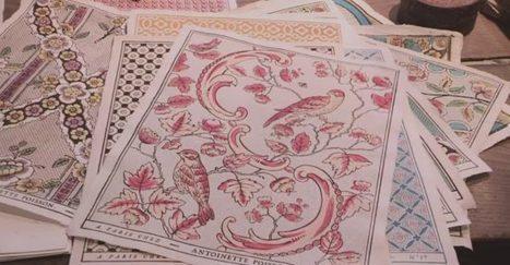 La haute couture du papier peint : héritage vieux de quatre siècles | L'actu culturelle | Scoop.it