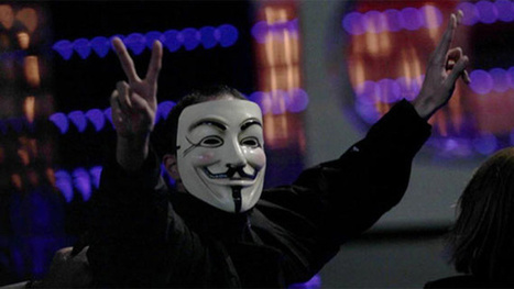 Anonymous Invades the Spanish Academy Awards Ceremony For Real | Technoculture | Scoop.it