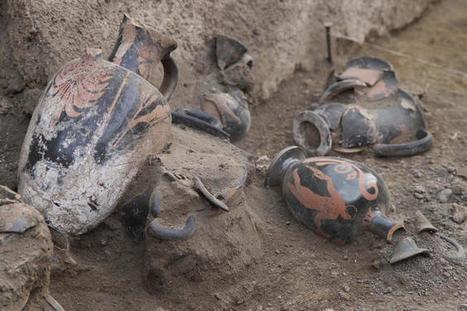 «A Pompéi, une tombe spectaculaire du IVe siècle avant notre ère» | Merveilles - Marvels | Scoop.it