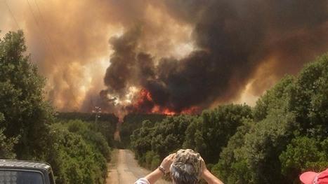La Sardegna brucia. Lacrime amare rigano gli occhi di un popolo costretto a soffrire per lei | Sardegna Live | Sardinia Italy Sardegna | Scoop.it