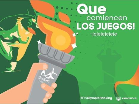 Operation Olympic Games : Anonymous veut manifester pendant les JO de Rios 2016 | Libertés Numériques | Scoop.it