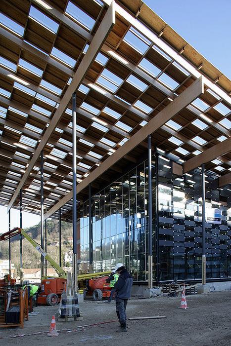 Chantier : Cite des Arts et de la Culture de Besançon par Kengo Kuma & Associates | Architecture pour tous | Scoop.it