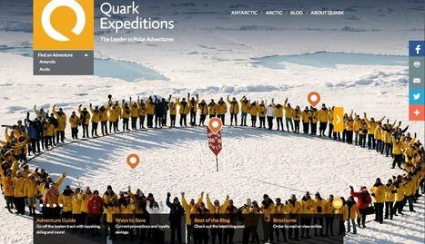 Quark Expeditions ou comment vendre des croisières polaires ? | Luxury Travel & Cruise Industry | Scoop.it