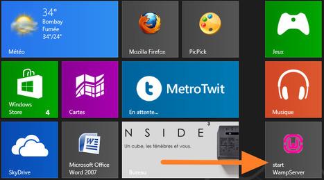 Comment faire fonctionner Wamp Server sous Windows8 ? | Administration Système | Scoop.it