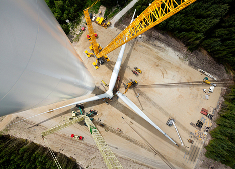 siemens wind turbine with world's largest rotor goes into operation | laurent | Scoop.it