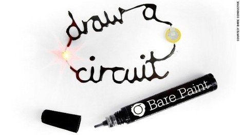 Bare Conductive Paint Allows You to Draw an Electrical Circuit Almost Anywhere | Science, Technology, Internet | Scoop.it