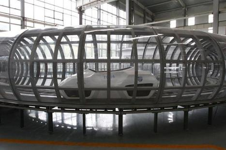 Enclosed tube maglev system tested in China | Sustain Our Earth | Scoop.it