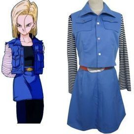 Android 18 Costumes, Dragon Ball Android 18 Cosplay Costume -- CosplaySuperDeal.com   cosplaysuperdeal   Scoop.it