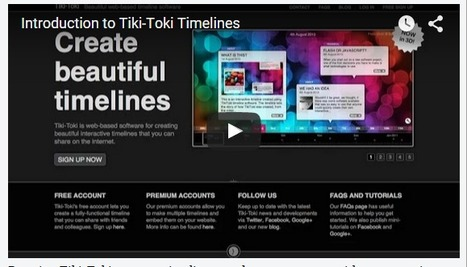 Free Technology for Teachers: Create Interactive Timelines with Tiki-Toki | Serious Play | Scoop.it
