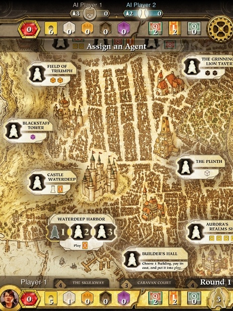 Wizards of the Coast Announce 'Dungeons & Dragons Lords of Waterdeep' For iPad | ios games | Scoop.it