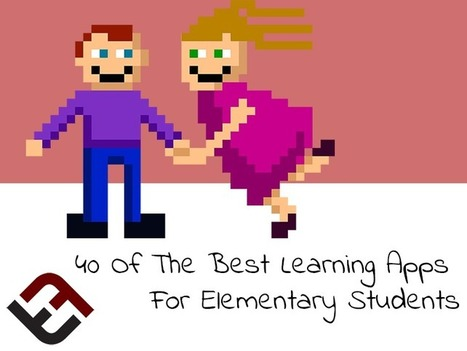 40 Of The Best Elementary Learning Apps For Students | Go Go Learning | Scoop.it