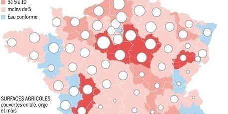 L'agriculture, à l'origine des deux tiers de la pollution de l'eau potable en France | CAP21 | Scoop.it