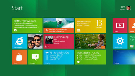 First Windows 8 'Consumer Preview' preinstalled apps revealed | Microsoft | Scoop.it
