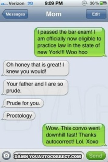 Damn You Auto Correct Founder Discusses the Cringe Behind the Texts | Machinimania | Scoop.it