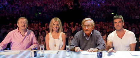 Noam Chomsky to become new X-Factor judge - NewsBiscuit (satire) | Creating Freedom | Scoop.it